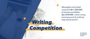 Kompetisi Menulis Batch 2: Tunjukkan Bakatmu dan dapatkan hadiah jutaan rupiah!