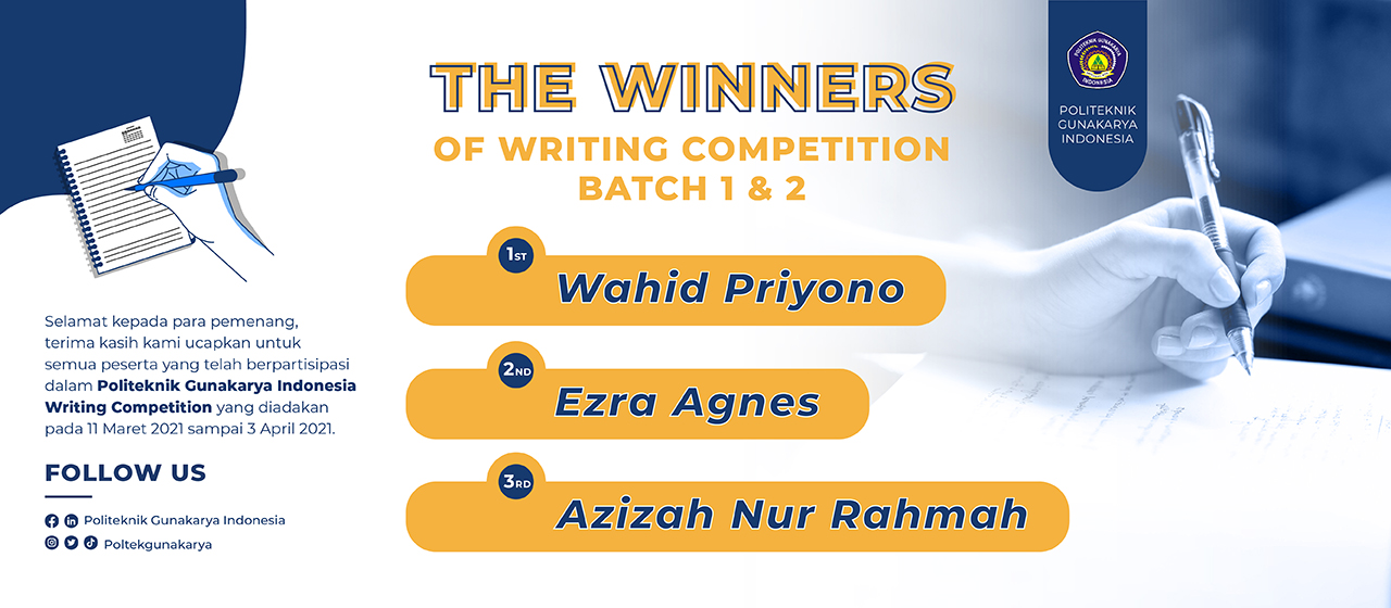 Pemenang Kompetisi Menulis Artikel